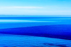 Maré abstrata do mar Imagem de Stock