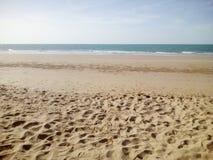 Maré baixa da praia fotos de stock
