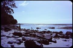 Marée basse de Sirinath photos libres de droits