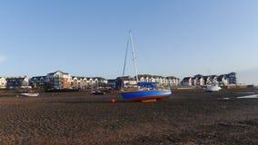 Marée basse Exmouth Devon Photographie stock