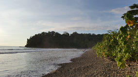 Marée haute chez Playa Hermosa Photographie stock libre de droits