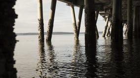 marée inférieure d'effet Photos stock