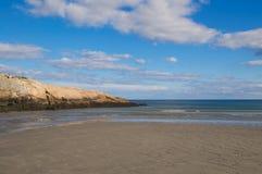 Marée inférieure de Massachusetts de Long Beach Images libres de droits
