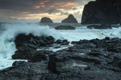 Marée orageuse Image libre de droits