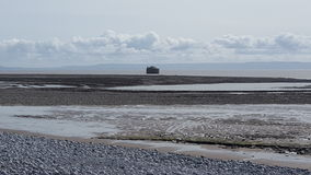 Marée sud du pays de Galles Images stock