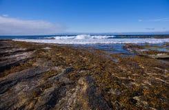 Marée sur l'océan arctique images stock