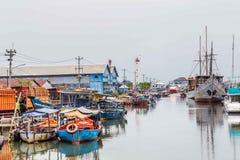 Marítimo em Semarang Indonésia Fotografia de Stock