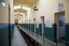 Marítimo, prisão e museu antártico em Ushuaia, Argentina imagens de stock royalty free