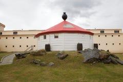 Marítimo, prisão e museu antártico em Ushuaia, Argentina imagens de stock