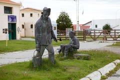 Marítimo, prisión y museo antártico en Ushuaia, la Argentina imagen de archivo libre de regalías