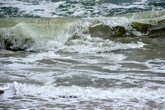 Mar áspero Imagem de Stock
