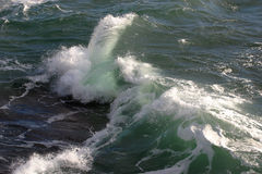 Mar áspero Imagem de Stock Royalty Free