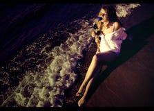 Mar #1 de Luna Imagens de Stock
