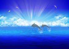 Mar Ilustración del Vector