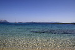 Mar 2 de Sardinia fotografia de stock