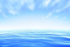 Mar ilustração royalty free