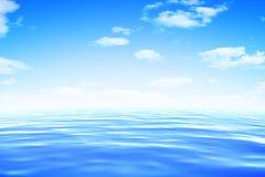 Mar ilustração stock