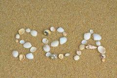 Mar Foto de Stock Royalty Free