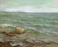 Mar Imagem de Stock