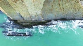 Mar aéreo da costa vídeos de arquivo