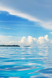 mar aberto que olha para consoles tropicais Fotos de Stock