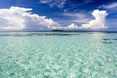 Mar abierto bajo Imagenes de archivo