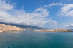 Mar adriático en Croatia Imágenes de archivo libres de regalías
