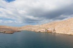 Mar adriático en Croatia Imagen de archivo