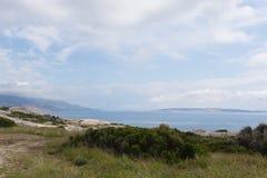Mar adriático en Croatia Imagen de archivo libre de regalías