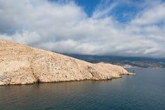 Mar adriático en Croatia Fotografía de archivo libre de regalías