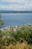 Mar adriático en Dalmacia Imágenes de archivo libres de regalías