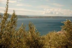 Mar adriático en Dalmacia Foto de archivo