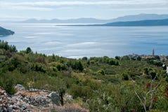 Mar adriático en Dalmacia Fotografía de archivo libre de regalías