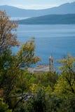 Mar adriático en Dalmacia Imagen de archivo libre de regalías
