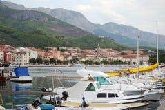 Mar adriático hermoso en Croacia, Makarska riviera Fotografía de archivo libre de regalías