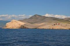 Mar adriático hermoso en el verano de 2015 imagen de archivo libre de regalías