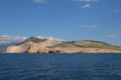 Mar adriático hermoso en el verano de 2015 foto de archivo libre de regalías
