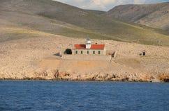 Mar adriático hermoso en el verano de 2015 imagen de archivo