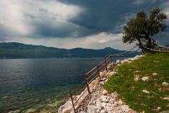 Mar adriático, isla de Cres, Croacia Foto de archivo libre de regalías