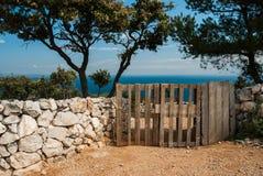 Mar adriático, isla de Losinj, Croacia Fotos de archivo libres de regalías