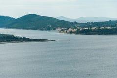 Mar adriático, isla de Losinj, Croacia Imágenes de archivo libres de regalías