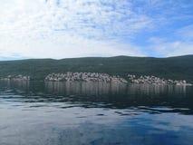 Mar adriático, Montenegro Fotografía de archivo libre de regalías