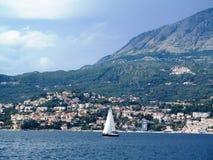 Mar adriático, Montenegro Imágenes de archivo libres de regalías