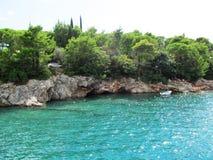 Mar adriático, Montenegro Foto de archivo libre de regalías