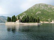 Mar adriático, Montenegro Fotos de archivo libres de regalías