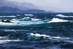 Mar agitado Imagen de archivo libre de regalías