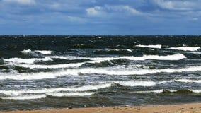Mar agitado fotos de stock