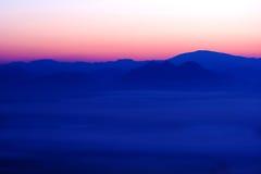 Mar agradable de la niebla en Tailandia Fotografía de archivo libre de regalías