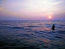 mar, agua, agua azul, visión Imagenes de archivo