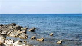 Mar al aire libre almacen de metraje de vídeo